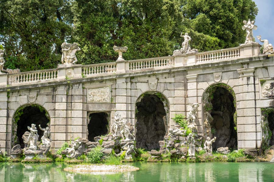 Caserta Palace fountains