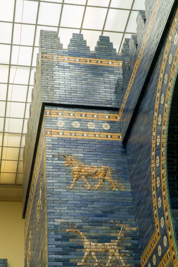 Berlin with kids at the Ishtar gate