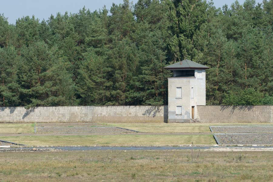 Sachsenhausen Concentration camp tower