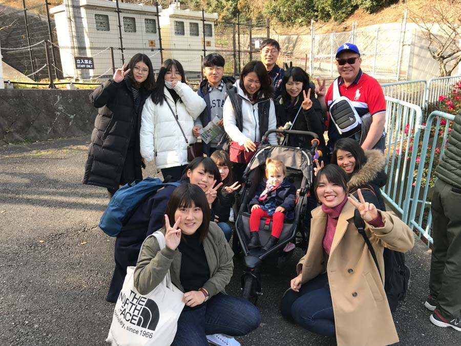 Fukuoka zoo group picture