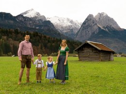 Family in Bavaria Garmisch