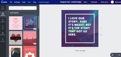 Canva Design Screenshot