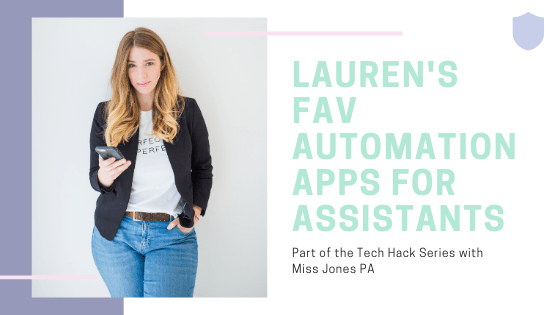 Fav apps for Assistants | A Miss Jones PA event