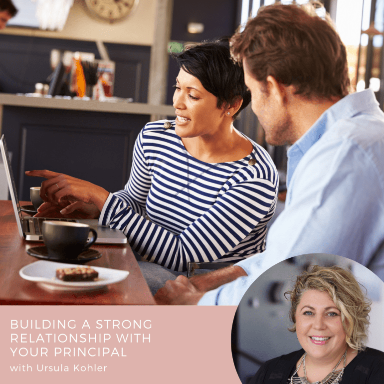 Building a Strong Relationship with your Principal Course