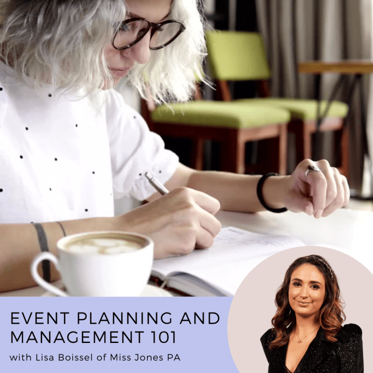 Event Planning and Management 101 Course