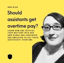 Should assistants get overtime pay?