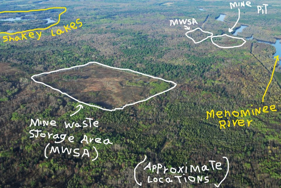 Coalition to save the menominee river