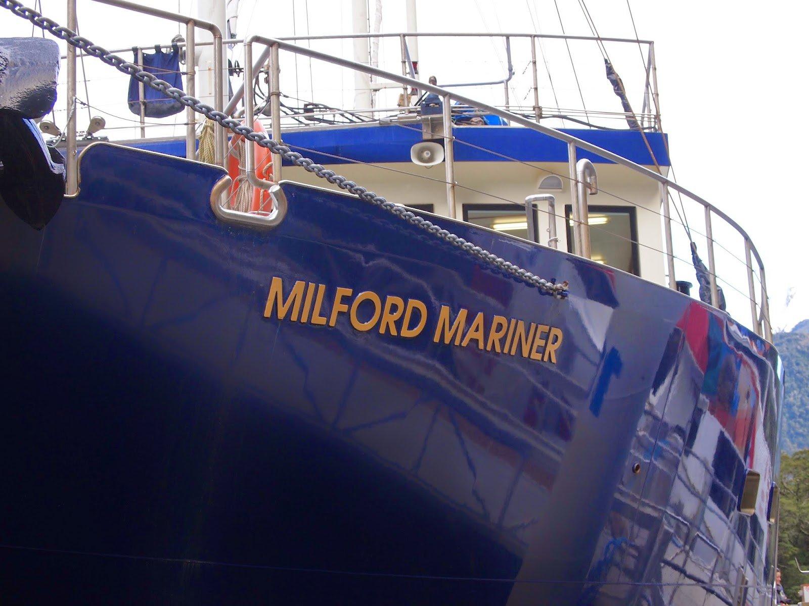 Milford Mariner Real Journeys
