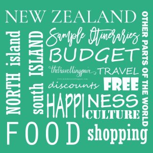 New Zealand Itinerary Planning Assistant