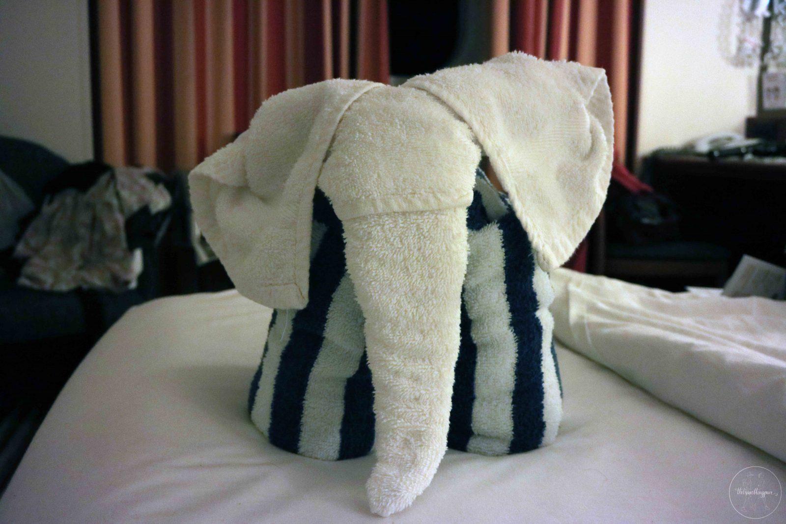 elephant towel animal pacific jewel
