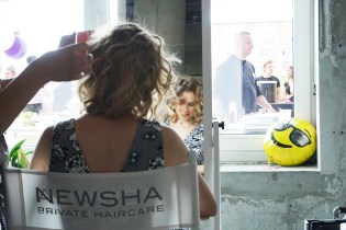 nhow Blogger Brunch Fashion Week Berlin Newsha