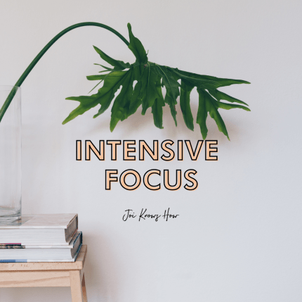 Intensive Focus Playlist by Joi Knows How