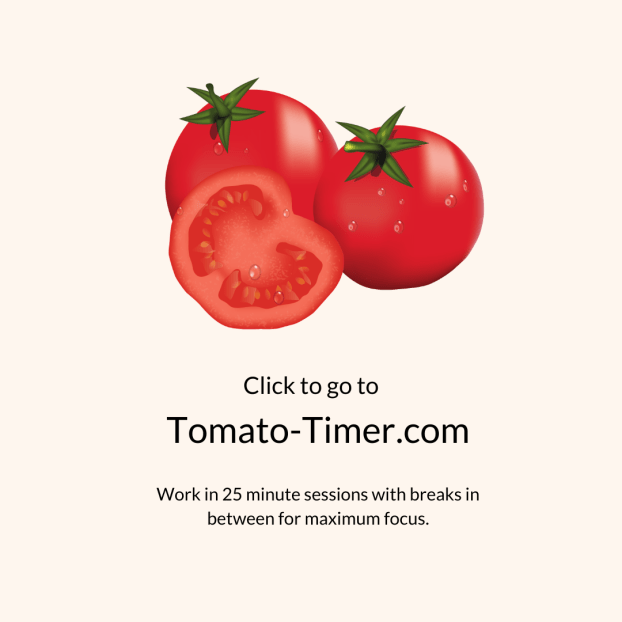 The Tomato-timer and 2 other free digital tools to help you stay focused while working from home   multi-passionate creative   Joi Knows How Blog