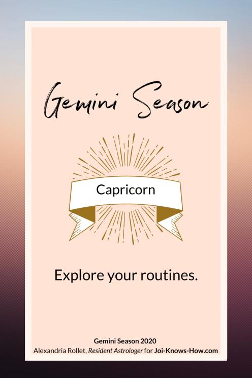 Gemini Season   Gemini   May 2020 Astrological Horoscopes   Affirmations   multi-passionate creatives   Joi Knows How blog