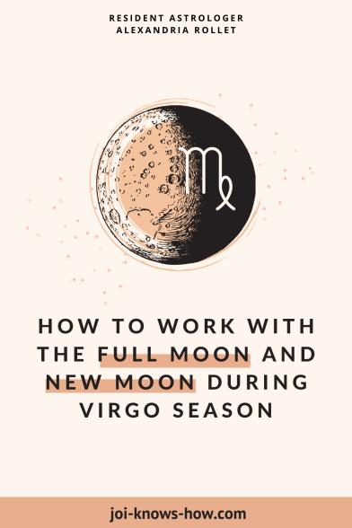 Virgo Season | Virgo Sign | Full Moon | New Moon | September 2020 Astrological Horoscopes | Affirmations | multi-passionate creatives | Joi Knows How blog | Creative