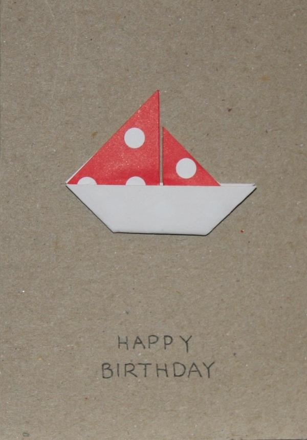 Origami Birthday Card Joji Creations