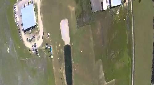VIDEO No se tiren en para caida miren esto Skydiver Pounds the Ground