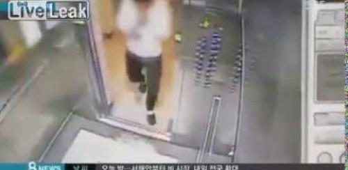 VIDEO Elevador muele un Pobre hombre Man Is Nearly Crushed by Defective Elevator