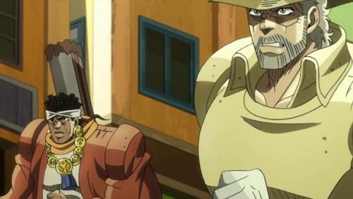 ジョジョ アニメ 第三部 第31話 ガムシャラに追いかける二人