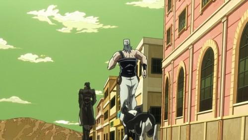 ジョジョ アニメ 第三部 第31話 ジョセフたちを探しにいく承太郎たち