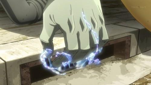 ジョジョ アニメ 第三部 第31話 波紋で掴んでいた