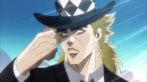 ジョジョ アニメ スピードワゴン ドヤ顔