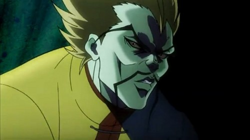 ジョジョ アニメ 暗躍するワンチェン