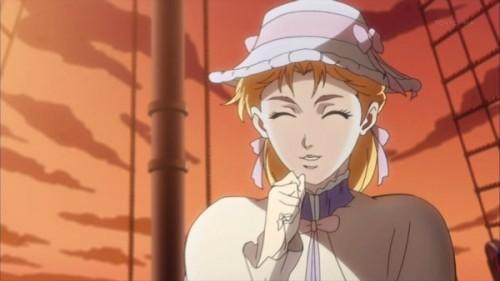 ジョジョ アニメ 船上のエリナ
