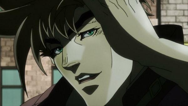 ジョジョ アニメ 第10話 ジョセフ UP