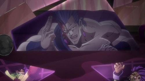 ジョジョ アニメ 第三部 第8話 鏡を割っていたポルナレフ