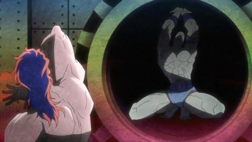 ジョジョ アニメ 第12話 吸血鬼とサンタナ