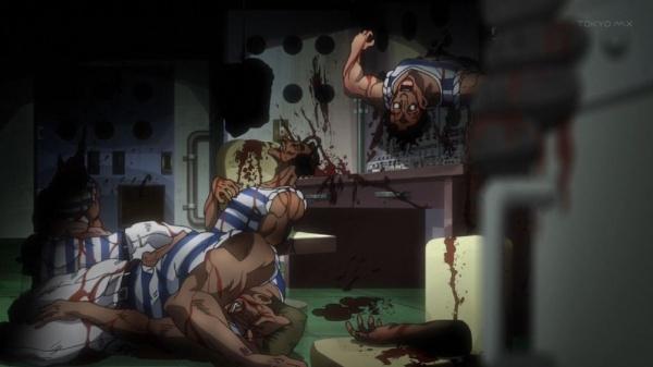 ジョジョ アニメ 第三部 第7話 船員全滅