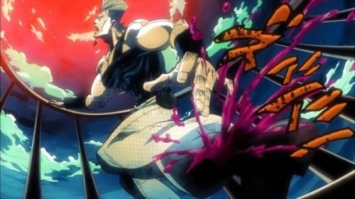 ジョジョ アニメ 第三部 第8話 足を切られるポルナレフ