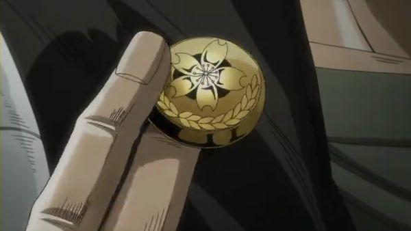 ジョジョ アニメ 第三部 第7話 ボタンを外す承太郎