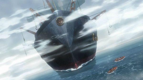 ジョジョ アニメ 第三部 第7話 貨物船