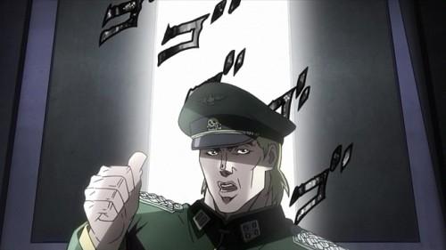 ジョジョ アニメ 第10話 シュトロハイム