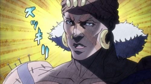 ジョジョ アニメ 第17話 泣いてスッキリしたエシディシ