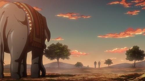 ジョジョ アニメ 第三部 第10話 置いてけぼりの象