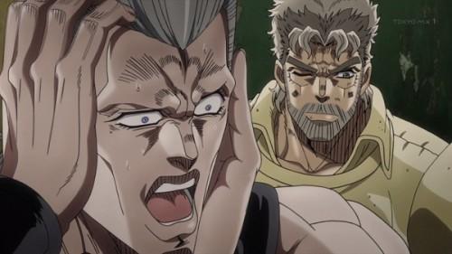 ジョジョ アニメ 第三部 第12話 ポルナレフ ショック