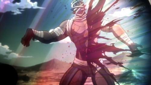 ジョジョ アニメ 第三部 第11話 シルバーチャリオッツ 「剣で斬るのは・・・たやすい」