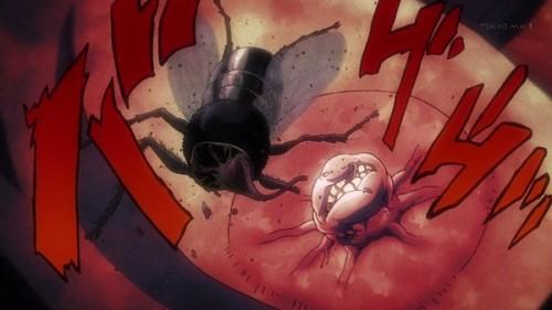 ジョジョ アニメ 第三部 第12話 ハエを食う女帝