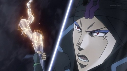ジョジョ アニメ 第19話 波紋でつららを繋げるジョジョ
