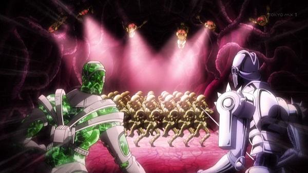 ジョジョ アニメ 第三部 第17話 ラバーズ ライブ