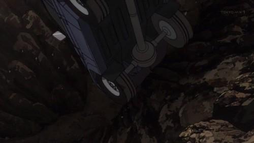ジョジョ アニメ 第三部 第13話 崖へ真っ逆さま
