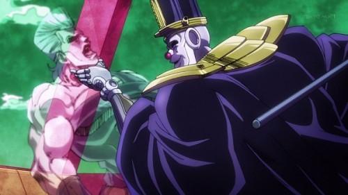 ジョジョ アニメ 第三部 第19話 消えるポルナレフ
