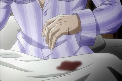 ジョジョ アニメ 第三部 第19話 花京院 手にキズ