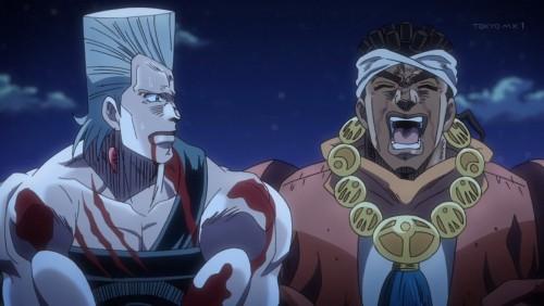 ジョジョ アニメ 第三部 第22話 豪快に笑うアヴドゥル