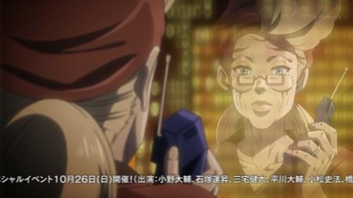 ジョジョ アニメ 第三部 第23話 心配そうなスージーQ