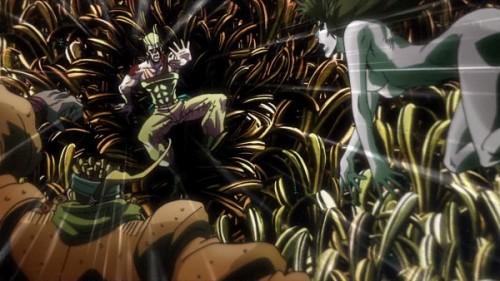 ジョジョ アニメ 第三部 第22話 ポルナレフ 「お願いだ!来ないでくれー」