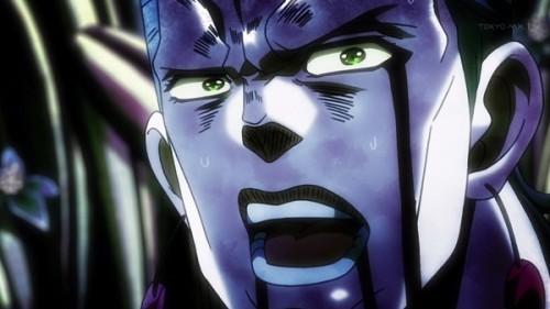 ジョジョ アニメ 第三部 第22話 テンパってるポルナレフ